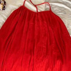 Red Abercrombie & Fitch Dress